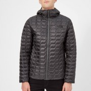 The North Face Men's Thermoball Hooded Jacket - Asphalt Grey/Fusebox Grey Process Print - M - Grey