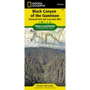 Wandelkaart - Topografische kaart 245 Trails Illustrated Black Canyon of the Gunnison National Park | National Geographic