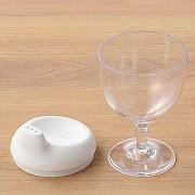 ≪レアーレ≫グラス型コップ ホワイト