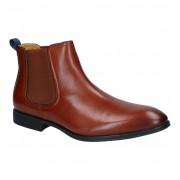 Steptronic Cognac Chelsea Boots