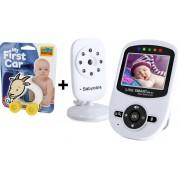 Pachet promo :Baby Monitor Video pentru bebelusi SI-LiveSmart SM24+Masinuta interactiva, ecologica Caprita