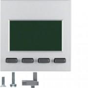 BERKER - 75860083 - S.1/B.x - info display, alumínio mate 25