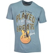 Gibson T Shirt Played By Blue L