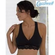 Carriwell -Сутиен за кърмене с дантела- черен
