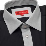 Bărbați cămașă slim fit Willsoor 620