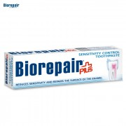 Biorepair Plus Pasta de Dinti Controlul Sensibilitatii fara Fluor, 100 ml