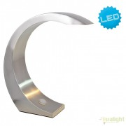 Veioza, Lampa de birou LED design modern Gallus nickel, H-21,5cm 3027750 NV