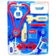 Kids 10-Piece Doctor Nurse Set Family Medical Set Toy for Kids