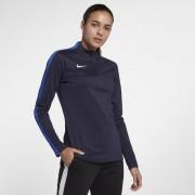 Haut de footballà manches longues Nike Dri-FIT Academy Drill pour Femme - Bleu