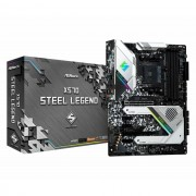 MB, ASRock X570 Steel Legend /AMD X570/ DDR4/ AM4 (90-MXBAR0-A0UAYZ)