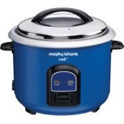 Morphy Richards Cook+ Electric Rice Cooker with Steaming Feature(1.8 L, Blue)