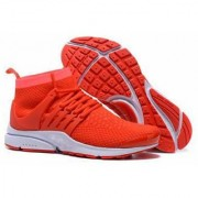 Air Presto Flyknit Ultra sport running shoes Orange