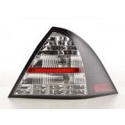 FK-Automotive fanali posteriori LED Mercedes-Benz classe C tipo W203 berlina anno di costr. 05-07, nero