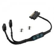 Controller adresabil RGB XSPC 3-pini 5V, alimentare SATA