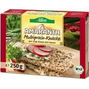 Allos Pieczywo Chrupkie Amarantusowe Wielozbożowe BIO 250 g