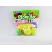 Set fructe de jucarie pentru copii, varsta 3 ani+, multicolor