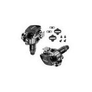 Pedal Clip Shimano Pd-m505-l Preto S/refletor C/taco - Mtb
