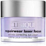 Clinique Repairwear Laser Focus creme contorno de olhos antirrugas para todos os tipos de pele 15 ml