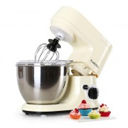 Klarstein Carina Morena Food Processor Mixer 800W 1.1 HP 4 Liter Cream