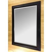 Siena Black 30X20 Bevelled Mirror
