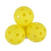 TURN Florbalové míčky 3ks žluté Spokey
