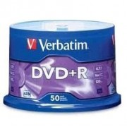 DVD plus R Verbatim box 50ks