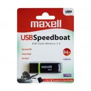 Memorie Flash Drive Maxell, USB 2.0, 64 GB, model Speedboat