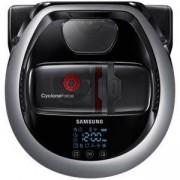 Прахосмукачка робот Samsung, Супер тънка, Високопроизводителен сензор, Самопочистваща се четка, LED дисплей, Черна, VR20M707HWS/GE