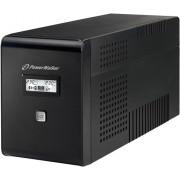UPS PowerWalker VI 2000 LCD LINE-INTERACTIVE 2000VA, 2X 230V SCHUKO+2XIEC