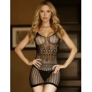 Csábitó ruhácska szép mintával,erotikus fehérnemü - 71947701