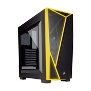 Corsair Carbide Spec-04 Computer Case - Mid-tower - Black, Yellow
