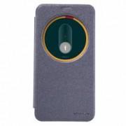 Husa Book Nillkin Sparkle pentru Asus ZenFone 2 ZE551ML Negru