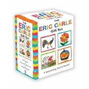 The Eric Carle Gift Set: The Tiny Seed; Pancakes, Pancakes!; A House for Hermit Crab; Rooster's Off to See the World, Hardcover
