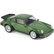 Macheta Auto Norev Porsche 911 Turbo 1978 - Green - JET CAR YOUNGTIMERS 1 43