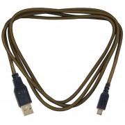 EH Cable De Datos Del USB Para El Cable De La Carga De La Carga Del Cargador De La Sincronización De 3DS XL Cable Plateado Oro - Dorado