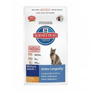 Hills Science Plan Hill'S Science Plan Mature Adult Dry Cat Food Chicken Flavour 10kg
