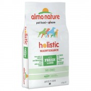 Almo Nature Holistic Medium Adult con Agnello e Riso - 2 x 12 kg