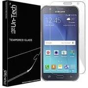 Un-Tech Tempered Glass for Samsung J7 Prime Premium Coated Tempered Glass Screen Protector Guard Screen GuardScreen ProtectorSmudge FreeUltra ClearBubble Free
