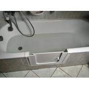 Kádajtó, kádbelépő, fürdőkádajtó beépítéssel 5 év garanciával