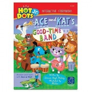Educational Insights Hot Dots Jr. Story Books Ace & Kat: The Goodtime Band