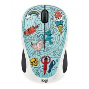 Logitech M238 Doodle, син/бял