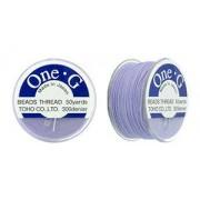 One-G pärltråd - Light Lavender 50 yards