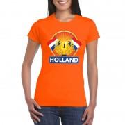 Bellatio Decorations Oranje Holland supporter kampioen shirt dames