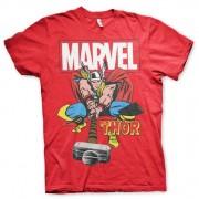 Thor The Mighty Thor T-Shirt Röd