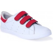 Rsole Trice White Sneakers Sneakers For Men(White, Red)