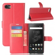 For BlackBerry Motion Litchi Texture Horizontal Flip Leather Case with Holder & Card Slots & Wallet(Red)