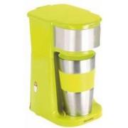 Cafetiera cu recipient de voiaj DomoClip DOD118V 750W cana din otel inodidabil de 0.42l Verde