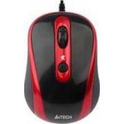 Mouse A4Tech N-250X-2 V-track Padless USB Black.Red