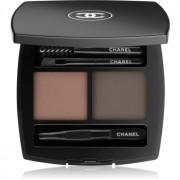 Chanel La Palette Sourcils de Chanel kit para unas cejas perfectas 50 Brun 4 g