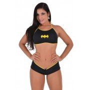Fantasia Feminina Pimenta Sexy Mini Bat Girl